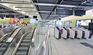 港鐵表示西港島綫整體工程已完成98%。
