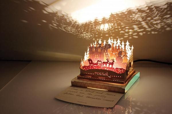 POSTALK 3D亮燈聖誕卡 $168 (LOG-ON)