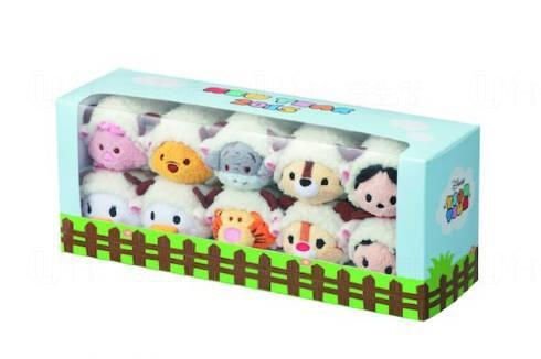 羊咩咩造型Tsum Tsum公仔,12月26日起在日本Disney Store及網路商店發售