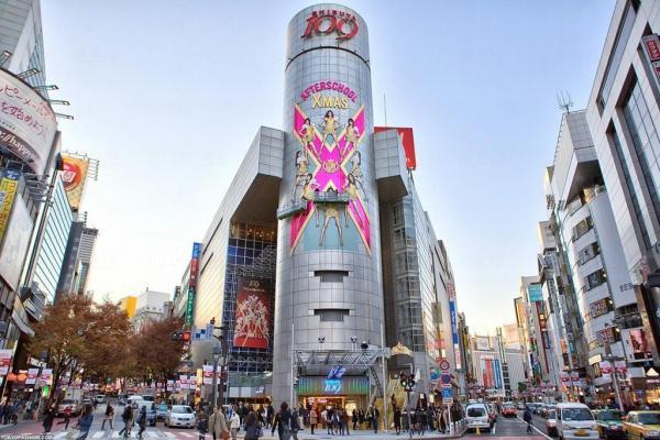 日本東京涉谷Shibuya 109