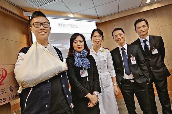 醫院指單車意外傷者中,七成是新手。