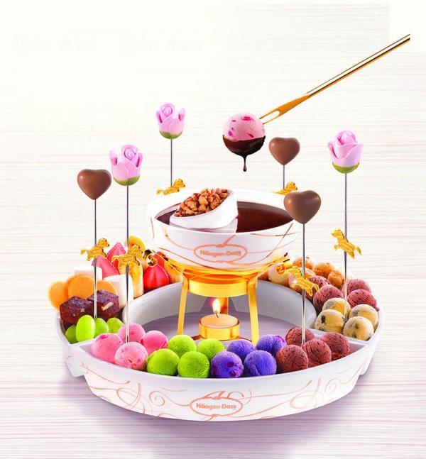 【$398】甜蜜到尾 二人雪糕火鍋