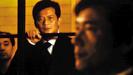 《刑警》中的石東昇(黃日華飾)被判罪名成立。