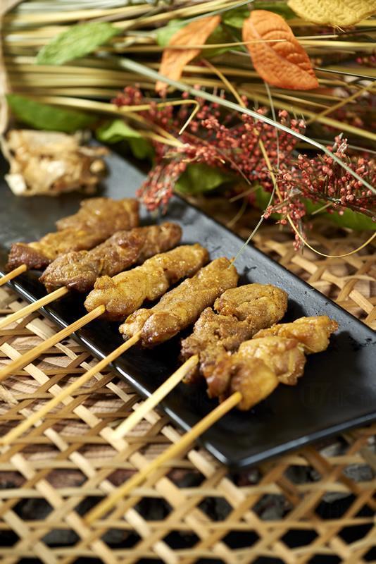 香燒豬肉雞肉牛肉串
