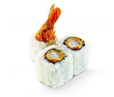 炸蝦卷 (圖: 元氣壽司)