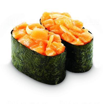 辣味三文魚軍艦 (圖: 元氣壽司)