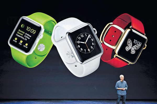 外媒認為第一代Apple Watch未臻完善,通話及打開應用程式的速度「超慢」。(晴報資料圖片)