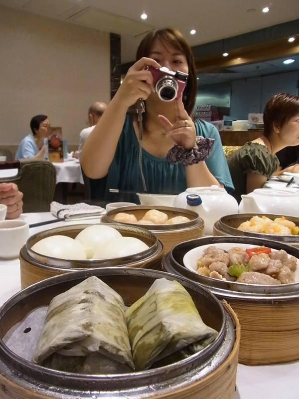 跟好多日本人一樣,香織喜歡吃點心(圖片由隅田香織提供)