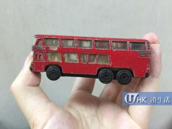 Made in Hong Kong的玩具車,甚為難得一見。