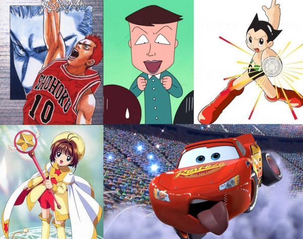 四月之星,你同邊個卡通動漫人物同一日生日? (圖:網上圖片)