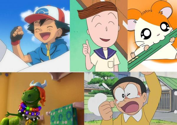 8月之星,你同邊個卡通角色同一日生日?(圖: 網上圖片)