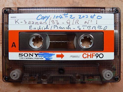 Cassette(卡式)帶(圖:flickr@Duncan Toms)
