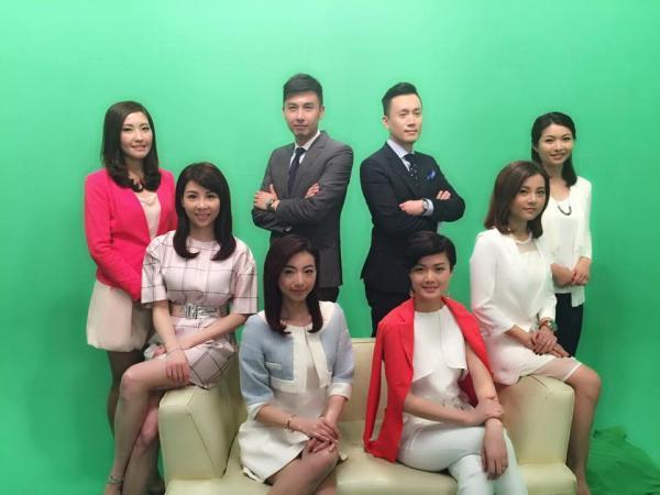 眾前主播早前集合拍廣告  (圖:FB@方健儀)