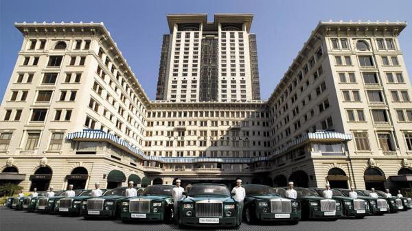 最大的酒店勞斯萊斯車隊:半島酒店(圖:官網圖片)
