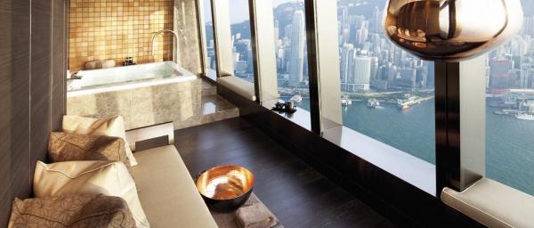 全球最高酒店:香港麗思卡爾頓酒店 (圖:官網圖片)