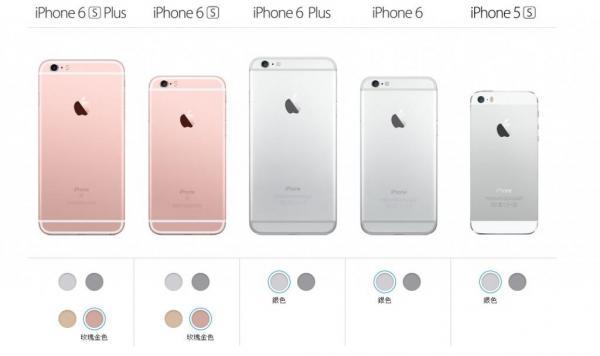 iPhone 6s 推出大熱的玫瑰金色 (圖: Apple)