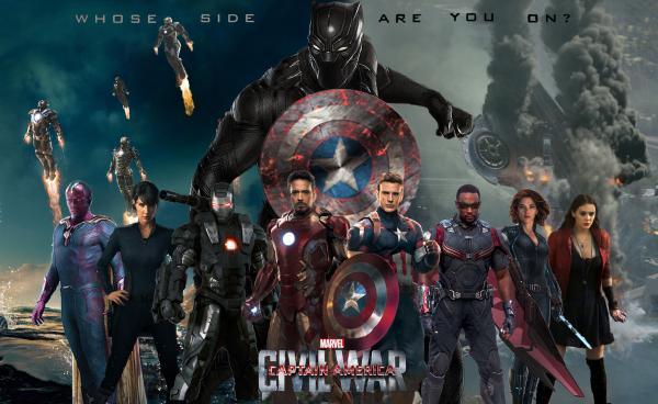 Captain America: Civil War 《美國隊長3:英雄內戰》 (圖:http://graphicpolicy.com/)