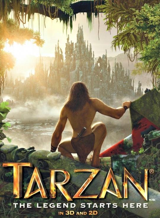 Tarzan 《泰山》 (圖:crossmap.com)