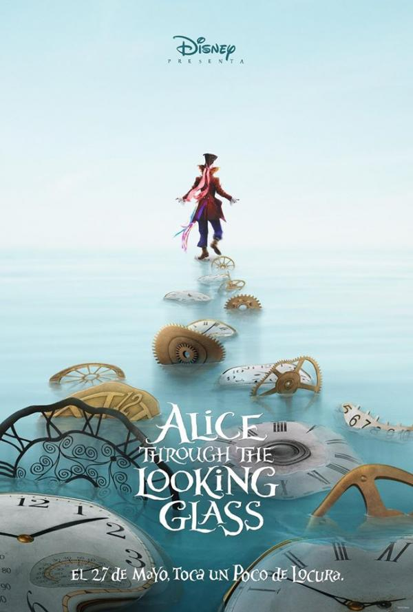 《愛麗絲夢遊仙境2》釋出角色海報(圖:FB@Disney Alice)