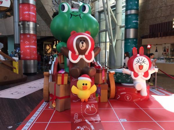 旺角LINE Friends 聖誕派對