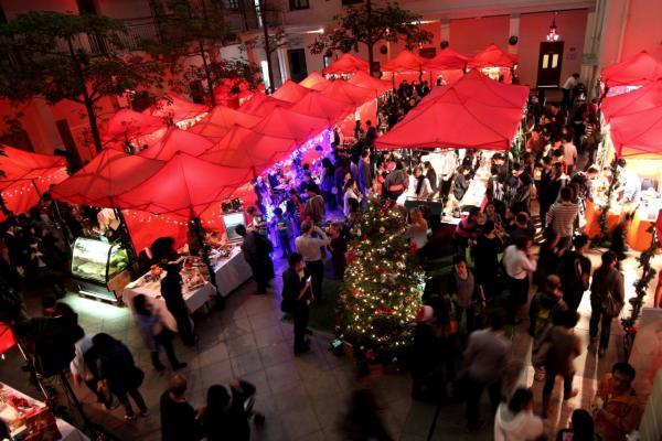 尖沙咀傳統歐洲式聖誕市集