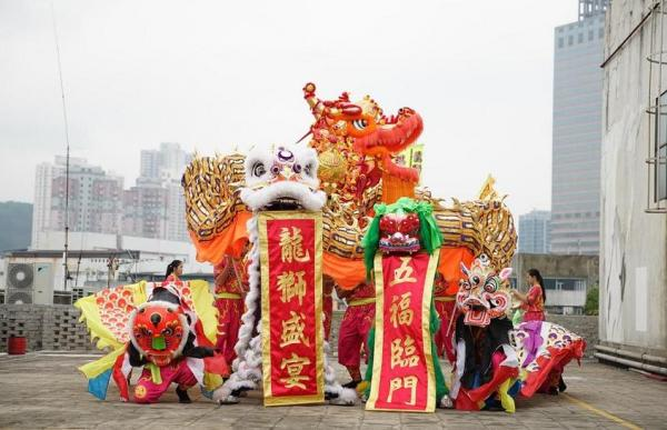 「龍獅盛宴」展覽@時代廣場
