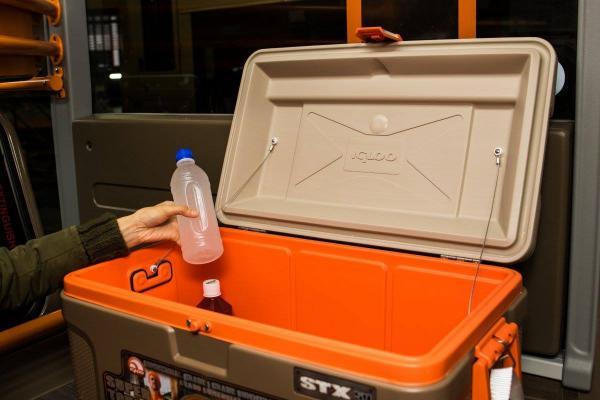 新機場巴士內籠曝光(圖:FB@KMB 九巴專頁)
