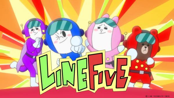日本動畫《LINE TOWN》 香港暑假有得睇(圖:amazon)