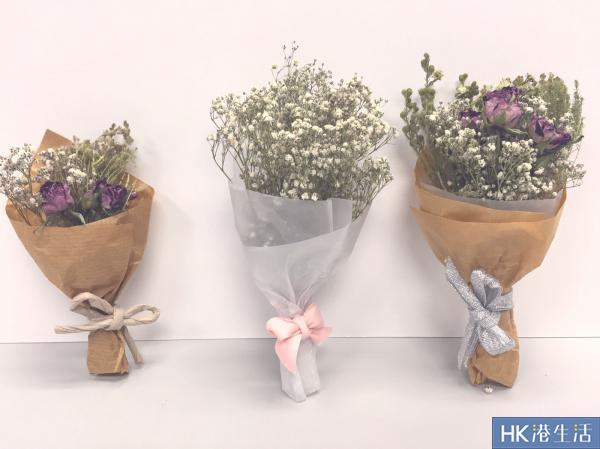 韓式小花束必定是文青及簡約清新系女生大愛