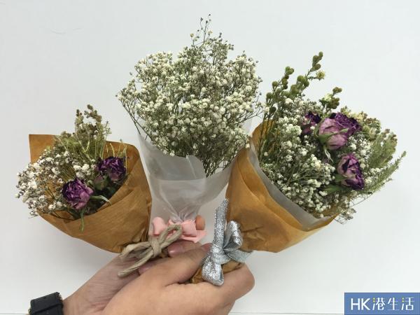 韓式小花束成品圖