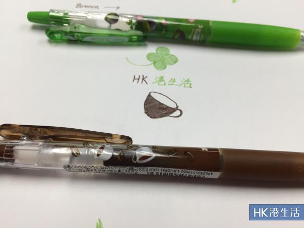 抹茶味都有!PILOT日本限定香味啫喱筆