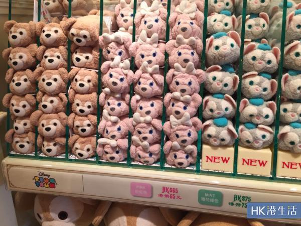 Tsum Tsum(由$65-$75不等)