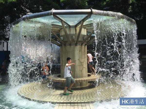 香港公園「水廉洞」