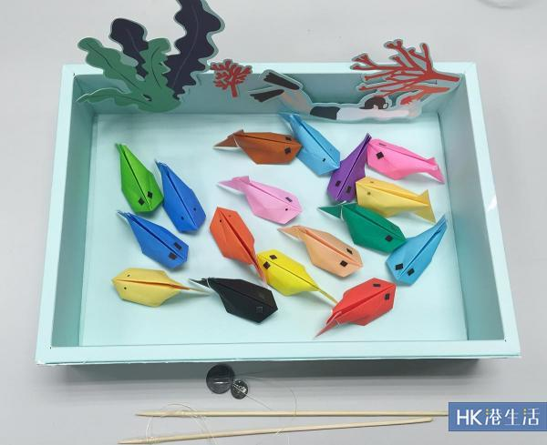 DIY磁石釣魚機  屋企塊磁石終於有多個用途!