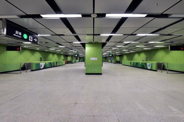 觀塘綫延綫10月通車!