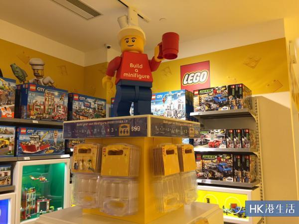 大量散件任選!4千呎LEGO專門店