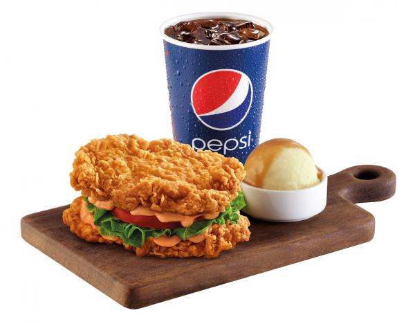 KFC最多新意!3大快餐店新出推廣食品