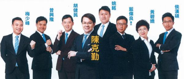 陳克勤團隊(圖:立法會網站)