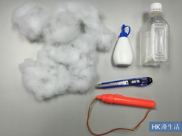 白雲燈籠所需材料
