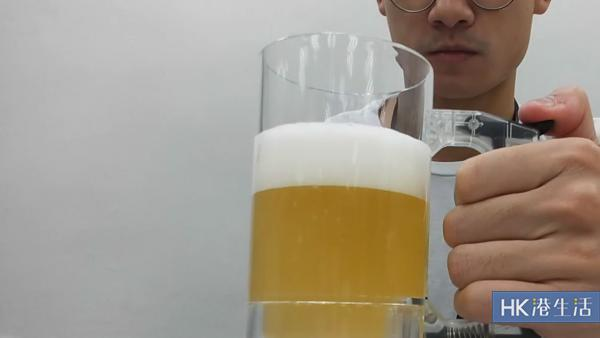 係時候啤啤佢!抵玩自動打泡啤酒杯