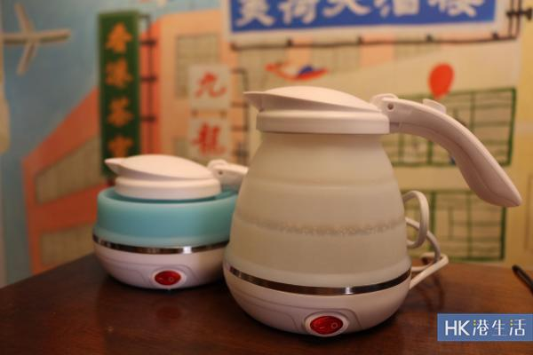 旅行必備摺得水煲 香港都有得買