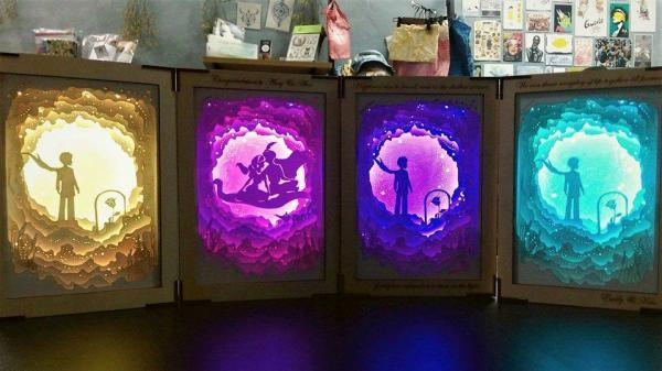 最浪漫!迷你小精靈夜燈 ( $380)