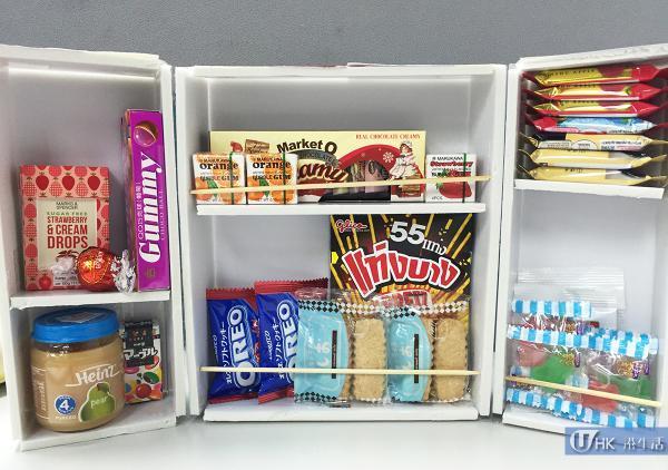 零食小冰箱 (適合禮物: 零食)