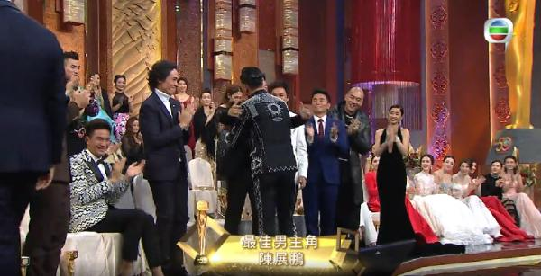 TVB萬千星輝頒獎典禮馬國明陪坐