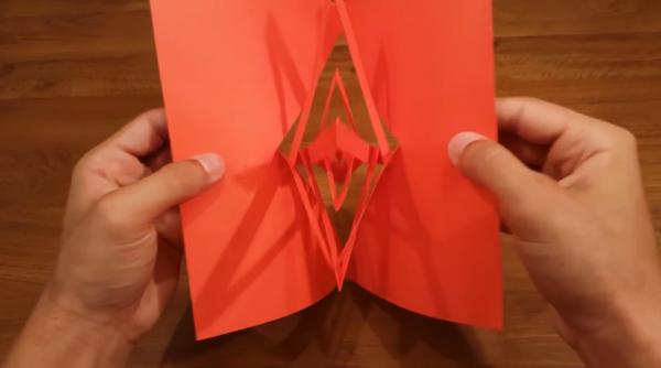 到底係魔術定剪紙?教你整神奇旋轉卡紙