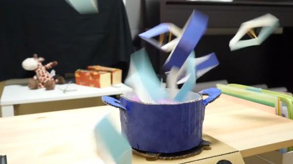 打開蓋真係會彈起半米!2樣材料自製瘋狂爆炸盒