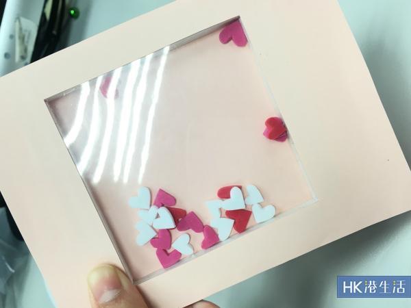 超簡易男生也會懂 DIY情人節shaker卡!