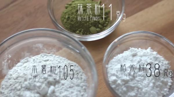 免焗簡易賀年甜品:抹茶椰汁千層糕