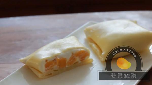 果肉多到爆開都得!自製酸酸甜甜芒果班戟食譜