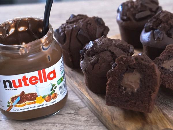 加朱古力碎更有口感!香滑流心Nutella鬆餅食譜